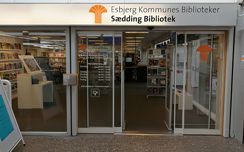 Sædding Bibliotek Sædding Centret